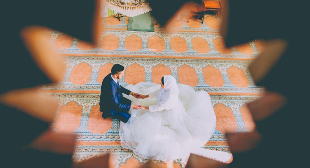 Muslimische Frauen heiraten